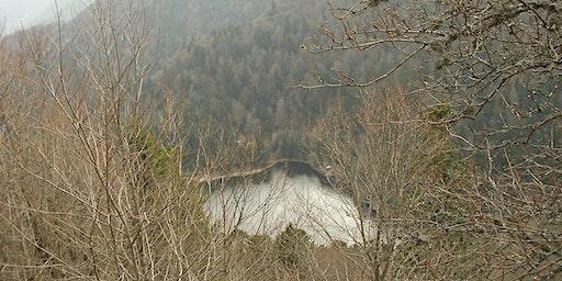 Balade en raquettes à neige autour des deux lacs d'origine glaciaire !