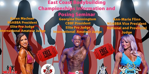 East Coast Bodybuilding Championships Info and Posing Seminar