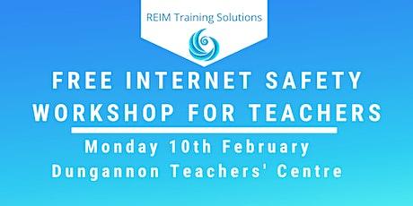 Free Internet Safety Workshop for Teachers tickets