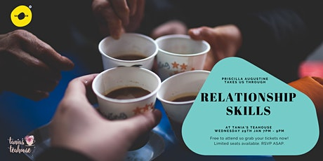 Safe Space Wellness Wednesday - Relationship skills tickets