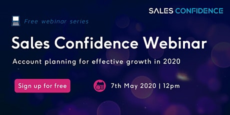 Account planning for effective growth in 2020 tickets