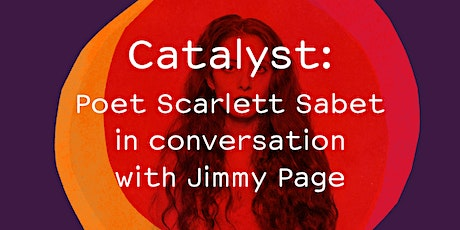 Poet Scarlett Sabet in conversation with Jimmy Page tickets