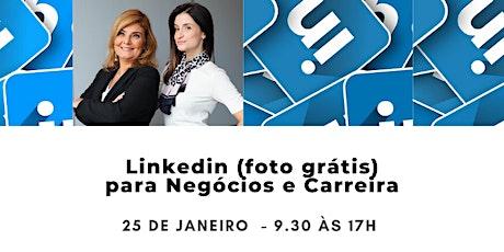LinkedIN  Estratégico para Carreiras e Negócios com FOTO GRÁTIS ingressos