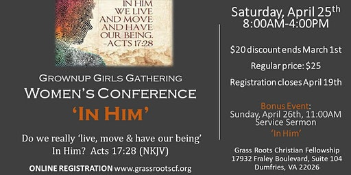 GrownUp Girls Women's Conference