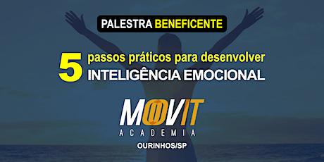 PALESTRA 5 PASSOS PRÁTICOS PARA DESENVOLVER INTELIGÊNCIA EMOCIONAL ingressos