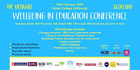The Ultimate Wellbeing In Scottish Education Conference: Edinburgh tickets