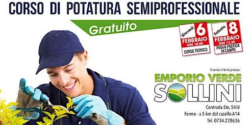 Corso di potatura semiprofessionale - GRATUITO