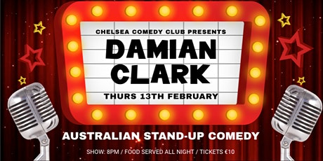 February Australian stand-up comedy night Tickets