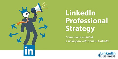 CORSO LINKEDIN PROFESSIONAL STRATEGY tickets