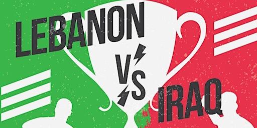Lebanon vs Iraq Football Match