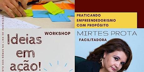 Workshop Ideias em Ação ingressos
