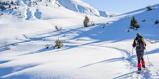 Balade en raquettes à neige sur la grande crête du Tanet