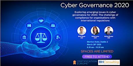 Cyber Governance 2020 tickets