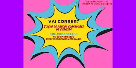2° ação de páscoa - Corredores de Curitiba ingressos