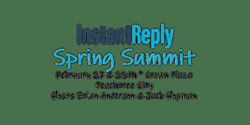 InstantReply Spring Summit