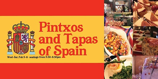 Pintxos and Tapas of Spain
