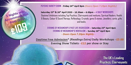 2020 Psychics And Mediums Show Looe