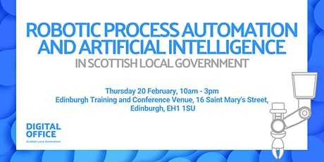 Robotic Process Automation and AI in Scottish Local Government tickets