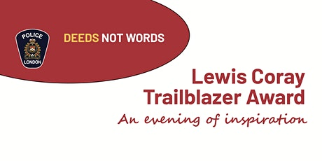 Lewis Coray Trailblazer Award Evening tickets