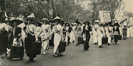 Make your own Suffragist Sash Workshop! tickets