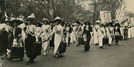 Make your own Suffragist Sash Workshop!