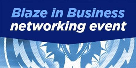 FREE Business networking with Coventry Blaze tickets