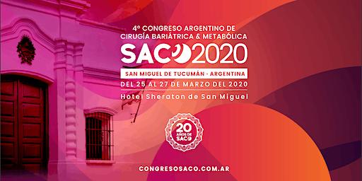 IV Congreso SACO 2020 - San Miguel de Tucumán