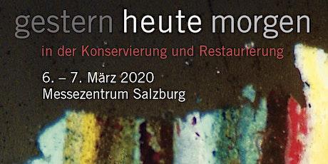 """""""gestern - heute - morgen""""  - in der Konservierung und Restaurierung Tickets"""