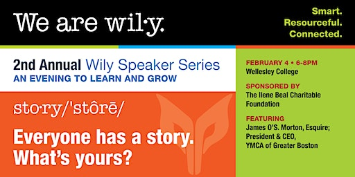 2nd Annual Wily  Speaker Series: An Evening to Learn and Grow