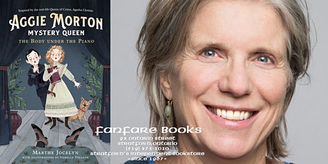 Marthe Jocelyn's Aggie Morton, Mystery Queen – Stratford Book Launch tickets