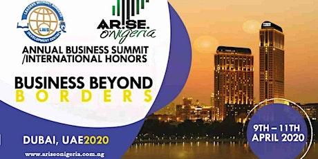 Annual Business Summit / International Honors (DUBAI2020) tickets
