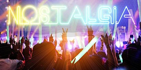Nostalgia at the Tav 3 tickets
