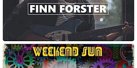 Finn Forster // Weekend Sun tickets