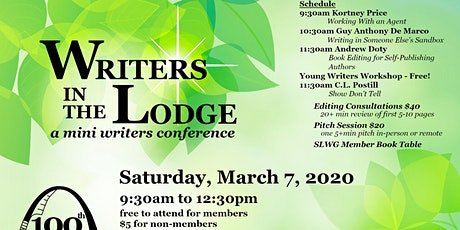 Writers in the Lodge 2020 presented by St. Louis Writers Guild tickets