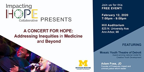 A Concert for HOPE tickets