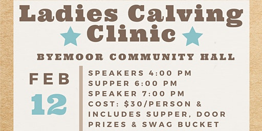 Ladies Night Calving Clinic