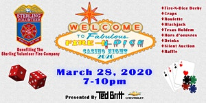 Fire-N-Dice Casino Night 2020 - Presented by Ted Britt...