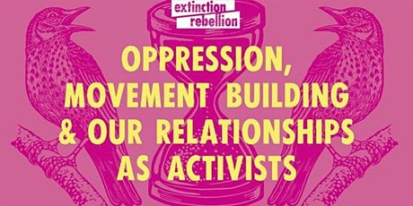 Oppression, movement building and our relationships as activists -Guildford tickets