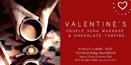 Valentine's Partner Yoga & Chocolate Workshop  tickets