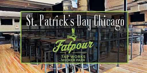 St. Patrick's Day Chicago at Fatpour Wicker Park