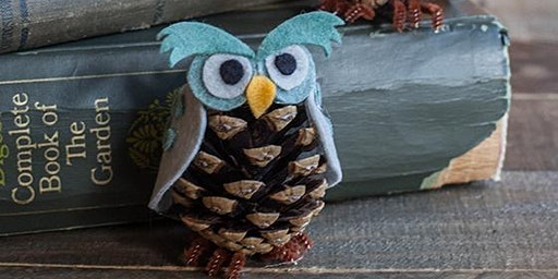 Hucclecote Library - Half Term Owl craft