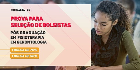 Prova de Seleção para Bolsa - Pós Graduação em Fisioterapia em Gerontologia - Turma 2 - Fortaleza ingressos