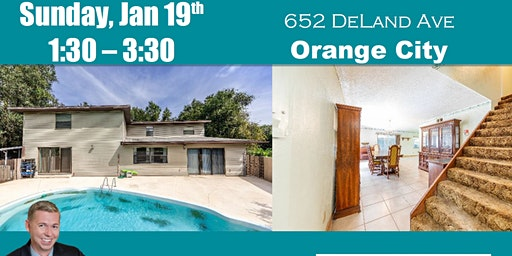 Open House ~ 652 DeLand Ave, Orange City