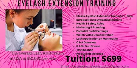 Eyelash Extension Training (Classic & Volume) tickets