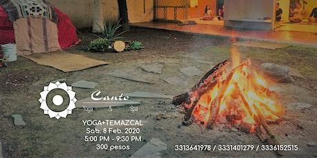Yoga + Temazcal entradas