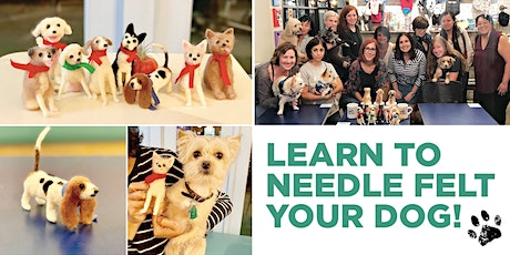 Learn Needle Felting with Linda Facci & Make a Felted Dog tickets