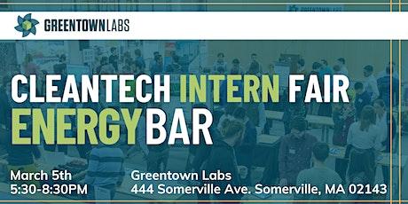 EnergyBar March 2020: Cleantech Intern Fair tickets