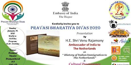 Pravasi Bharatiya Divas 2020 tickets