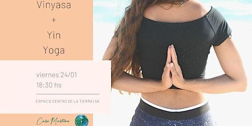 Vinyasa + Yin Yoga