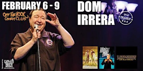Comedian Dom Irrera Live In Naples, FL Off the hook comedy club tickets